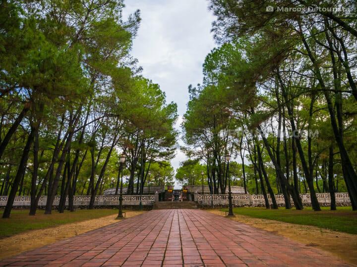 Nam Giao Esplanade (Esplanade of Sacrifice to the Heaven and Earth) in Hue, Vietnam