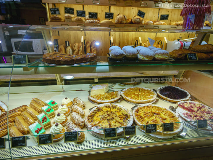 Pastries at Colmar Old Town, in France