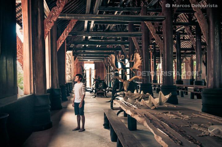 Marcos at Chiang Rai Black Houses