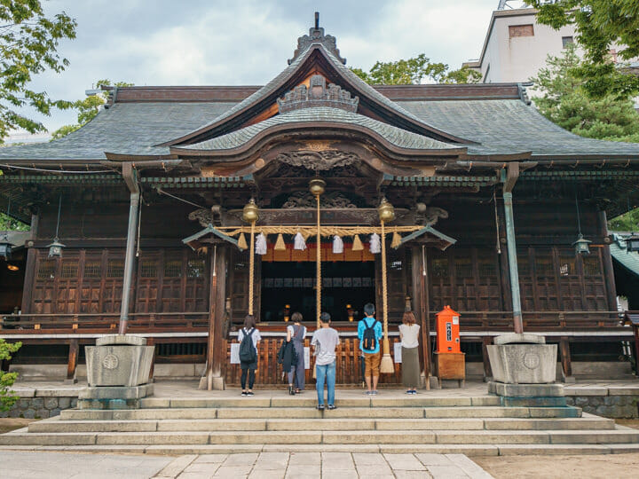 Yohashira Shrine, Matsumoto