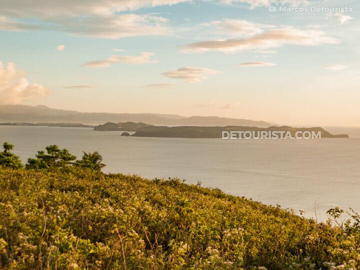 Carabao Island sunset  view facing Boracay Island, Romblon, Philippines