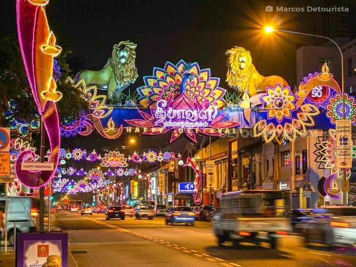 Little India - Deepavali Festinal, in Singapore