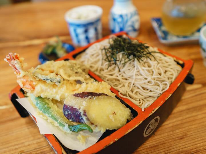 Soba Noodles at Kobayashi Soba, Matsumoto