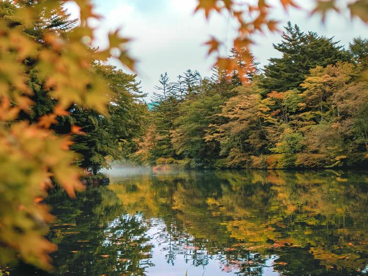 Kumoba Pond, Karuizawa