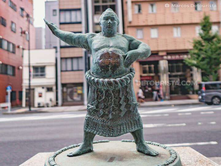 Sumo Wrestler in Ryogoku, Tokyo