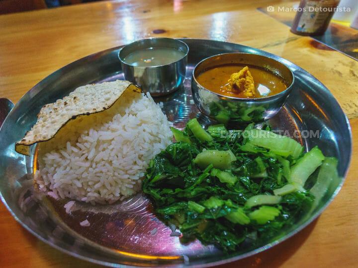 Dal bhat (Chicken)