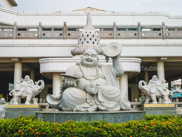 Maha Vihara Duta Maitreya Buddhist Temple, in Batam Island, Indonesia
