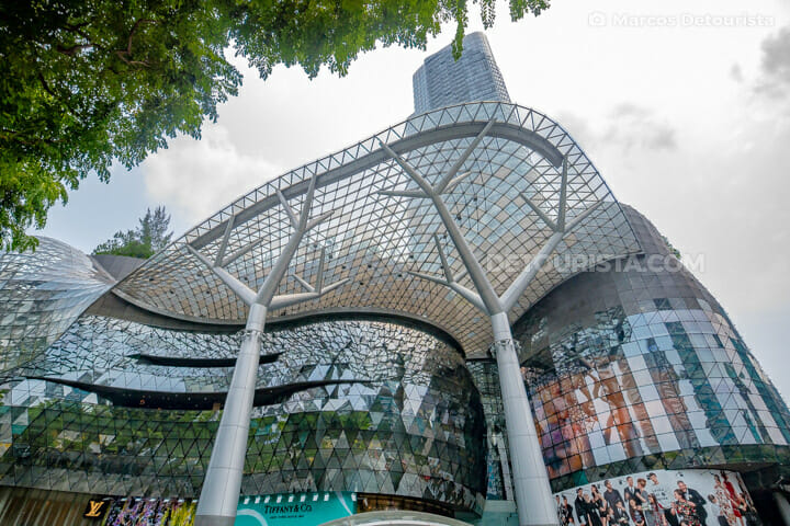 ION Orchard Mall, at Orchard Road, in Singapore