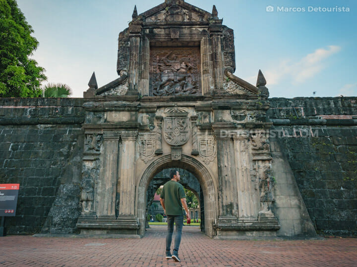 Fort Santiago, Intramuros, Manila City
