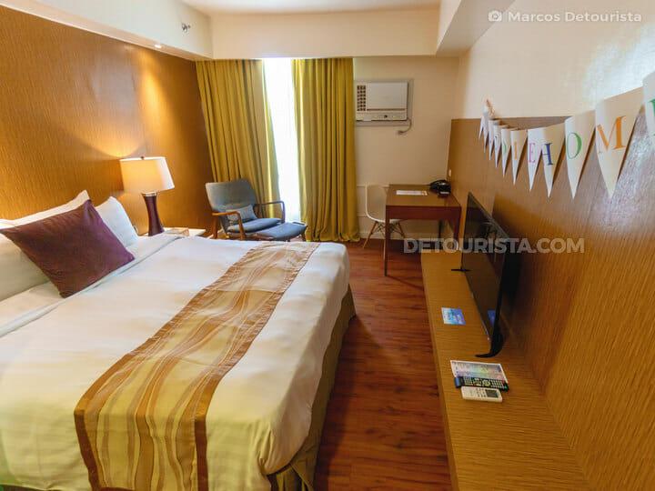 Standard room at Ferra Hotel