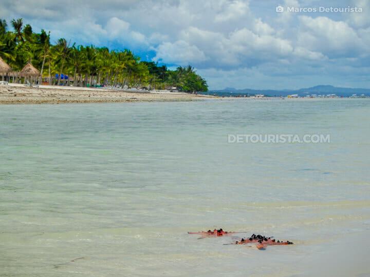 Dumaluan Beach in Panglao, Bohol