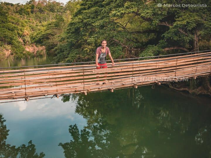 Twin Hanging Bamboo Bridges, Bohol