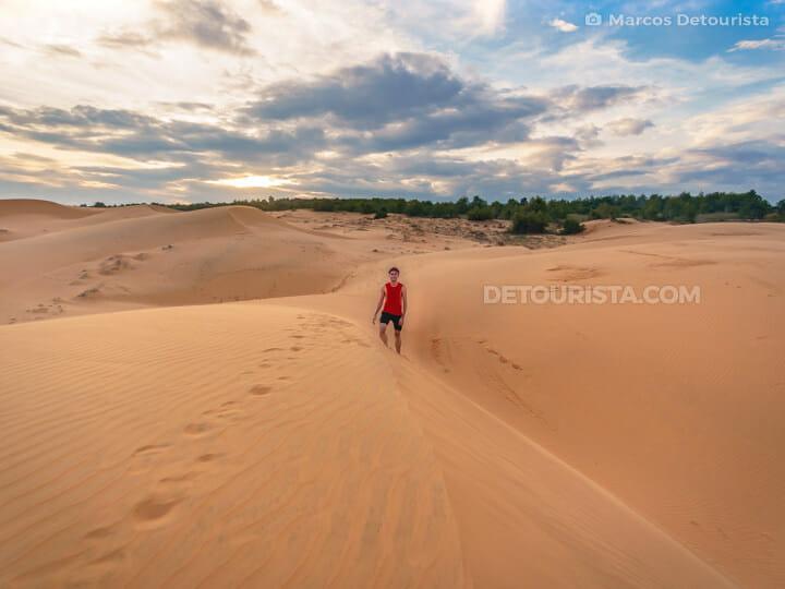Mui Ne Red Sand Dunes, Vietnam