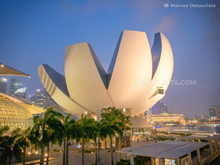 ArtScience Museum in Marina Bay, Singapore