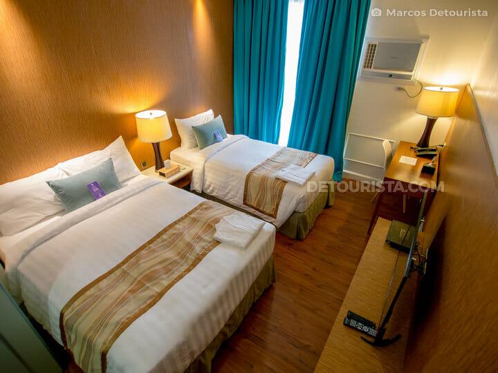 Twin room at Ferra Hotel