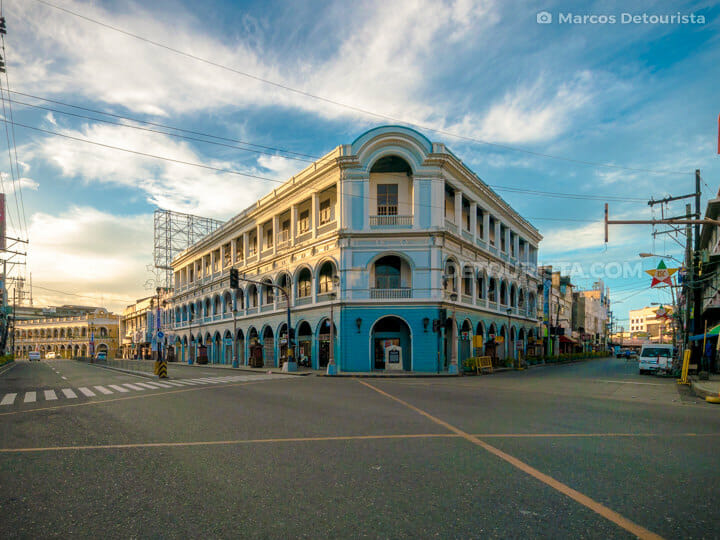 Calle Real in Iloilo City