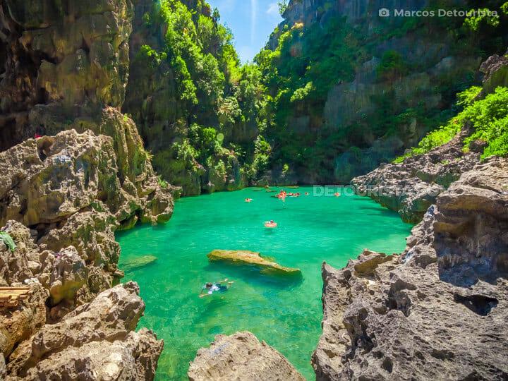 Tangke Lagoon, Gigantes, Iloilo