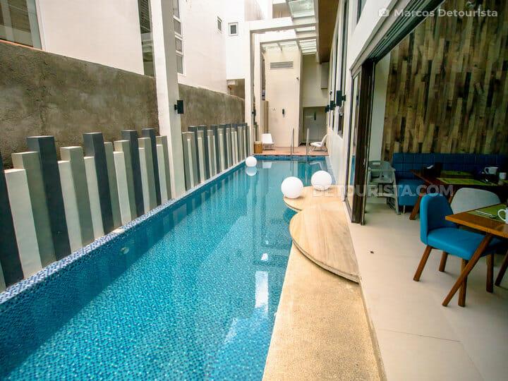 Swimming Pool at Ferra Hotel