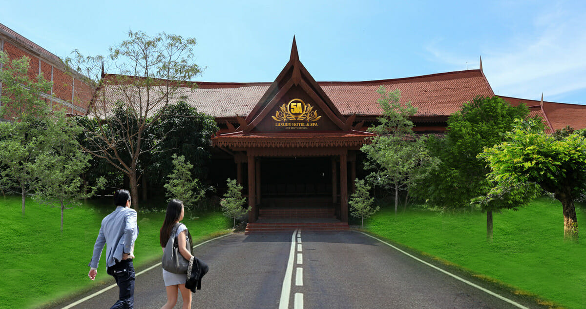 5A Luxury Hotel & Spa in Siem Reap, Cambodia