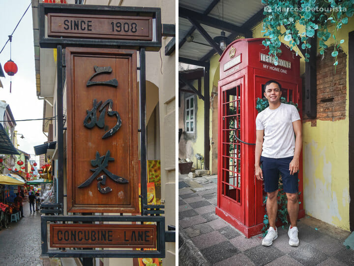 Marcos at Ipoh Old Town, Malaysia