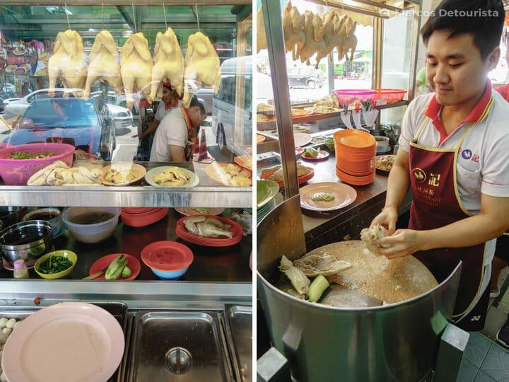 Restoran Onn Kee, in Ipoh, Malaysia