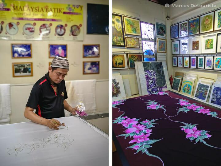 Batik Center, in Kuala Lumpur, Malaysia