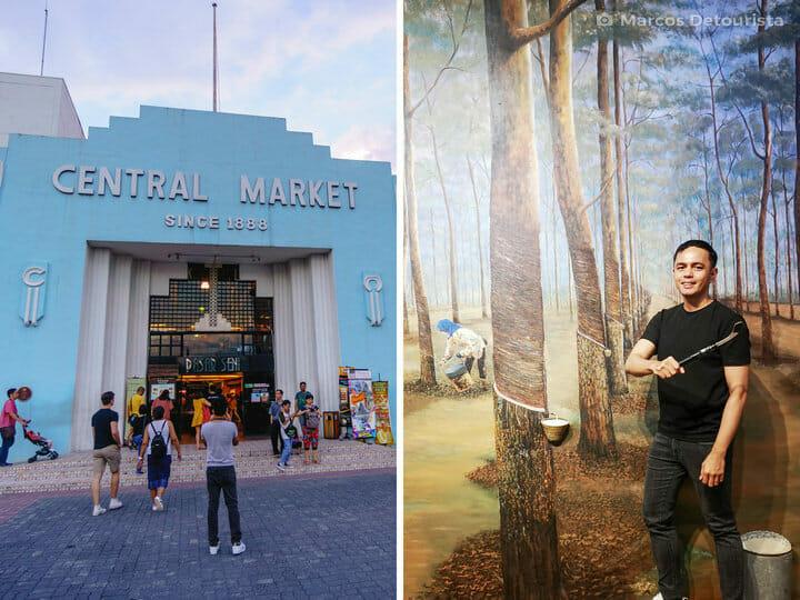 Central Market & Illusion 3D Art Museum, in Kuala Lumpur, Malaysia