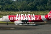 AirAsia Philippines Domestic & Int'l Promo for April to Sept Travel