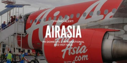 AirAsia Philippines Free Seats Promo + Red Hot Sale on ALL Flights