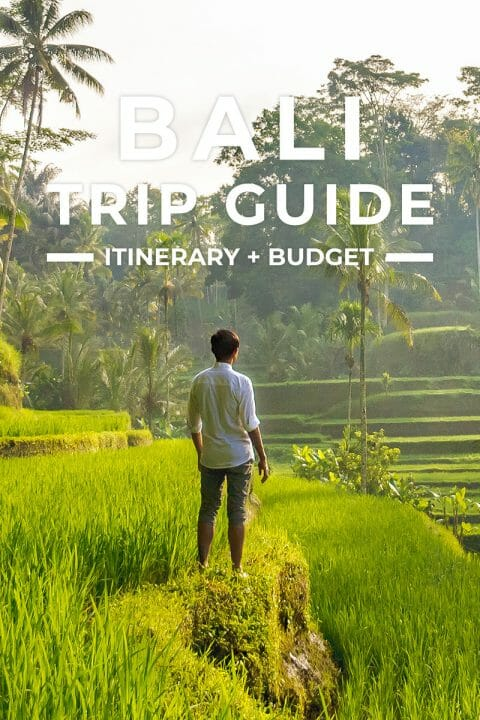 Bali Trip + Itinerary Guide for First-Timers