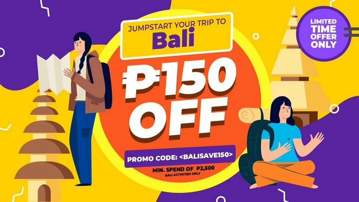 P150 OFF Bali Tour Package + Tickets Promo Code – Klook PH