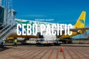 Cebu Pacific – P199 Promo for January, February, March + April Travel
