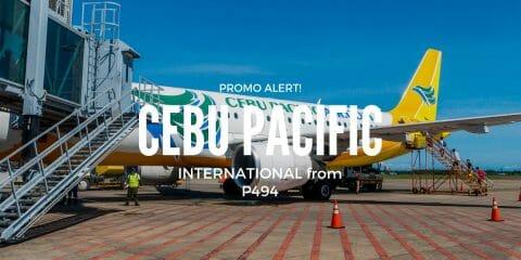 Cebu Pacific VISA Sale on International Flights for 2019 travel