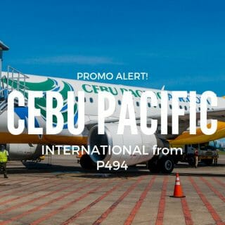 Cebu Pacific VISA Sale on International Flights for 2019 travel