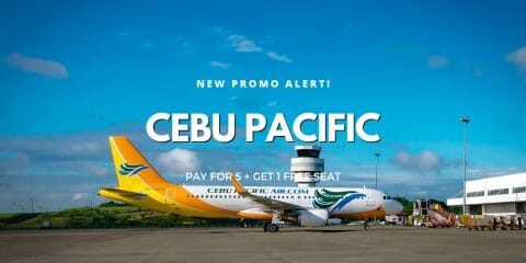 "Cebu Pacific ""1 FREE Seat Per Squad of 6"" Promo on ALL Domestic Flights"