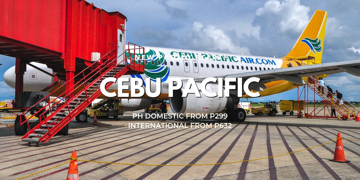 P299 Cebu Pacific Easter 1-Day Promo for May-Feb 2020 Travel