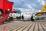 Cebu Pacific 'End of April' Promo for May to October Travel