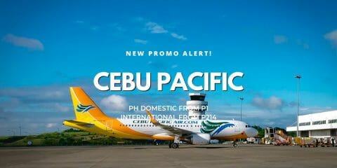 Cebu Pacific P1 Independence Day PISO FARE PROMO on Cebu Flights