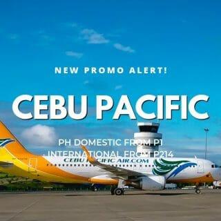 Cebu Pacific P1 Independence Day PISO FARE PROMO on Cebu Flights