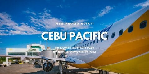 Cebu Pacific P299 Promo – All Domestic & International Destinations on SALE!