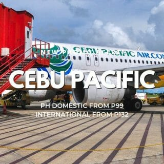 Cebu Pacific P99 One-Day Promo for 2019 to 2020 travel