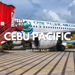Cebu Pacific P3 Promo – 1-Day Sale on Domestic and International Flights