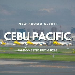 Cebu Pacific – P299 ALL Domestic Destinations on Sale for April to July Travel