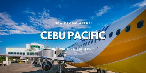 Cebu Pacific Promo on International Flights for July to October 2019 Travel