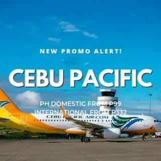P99 Cebu Pacific Promo for January, February & March Travel