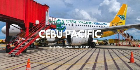 P1 Cebu Pacific International Flights Promo for 2019-2020 Travel