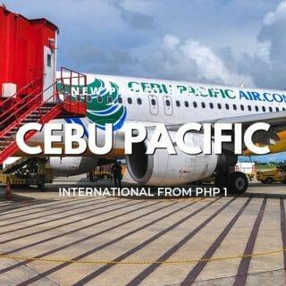P1 Cebu Pacific International Flights Promo for 2019-2020 Travel