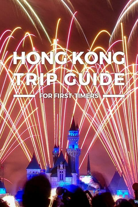 Hong Kong Trip + Itinerary Guide for First-Timers