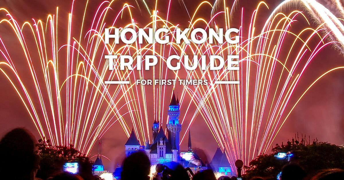 2019 Hong Kong ITINERARY + Travel Guide BLOG + BUDGET