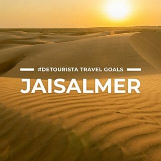 10 Places to Visit in Jaisalmer + Things To Do